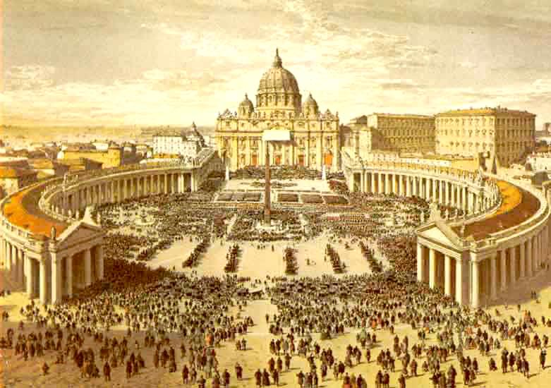 Painting-of-St-Peter-Basilica-Roman-Catholic-Church-550